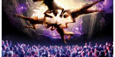 Break the Ice on Date Night with Tickets to Fuerza Bruta Off Broadway Production, Manhattan, New York