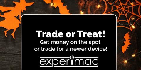 Happy Halloween from Experimac, Bend, Oregon