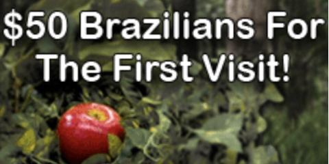 $50 Adam & Eve Brazilian-Tomorrow Only!, Rochester, New York