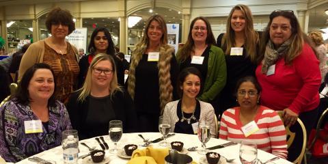 Apple Montessori School Directors and Teachers at 2016 NJ MAC, Metuchen, New Jersey
