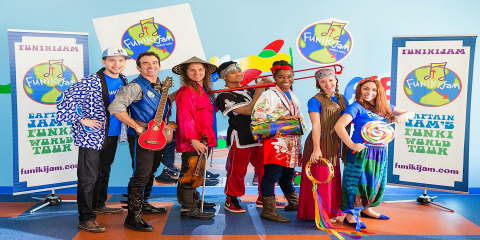 FunikiJam Music premieres New Orleans Mardi Gras for NYC kids, Manhattan, New York