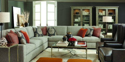 The Franklin Sofa: New Technology in Leather Furniture, Troy, Ohio