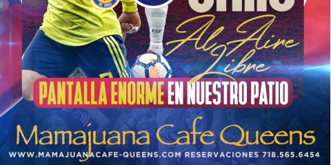 COLOMBIA VS CHILE- VIERNES JUNIO 28 5:00pm- MAMAJUANA CAFE QUEENS , New York, New York
