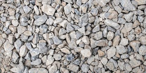 How Crushed Stone Is Used, Gales Ferry, Connecticut