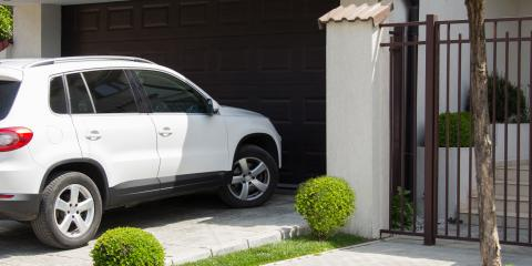4 Steps to Take if You Drive Into Your Garage Door, Welcome, North Carolina