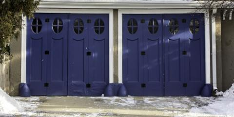 A Guide to Dealing With Frozen Garage Doors, Oxford, Connecticut
