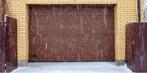 3 Common Winter Garage Door Issues & How to Address Them, Milford, Connecticut