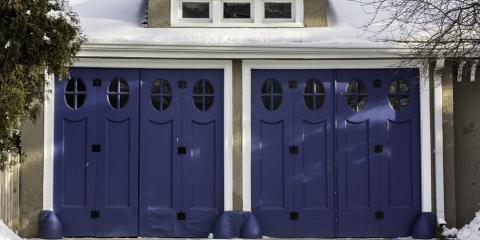 3 Garage Door Issues to Watch for This Winter, Oxford, Connecticut