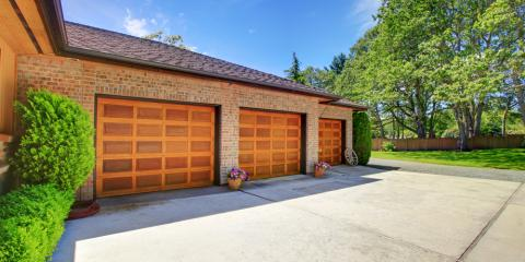 3 Popular Residential Garage Door Styles, Lexington, North Carolina