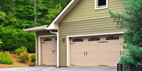 4 Different Styles Of Garage Doors, Lincoln, Nebraska