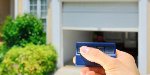 3 Reasons to Have a Garage Door Remote Control, La Crosse, Wisconsin