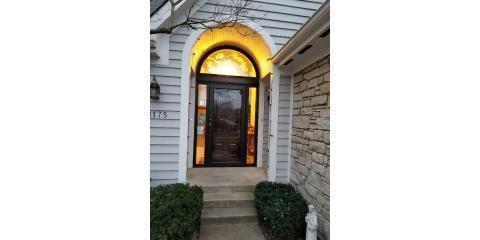 Front Door Friday for a Provia Door installed by JFK Window and Door in Maineville, Forest Park, Ohio