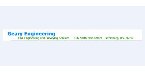 Geary Associates, Civil Engineers, Services, Petersburg, West Virginia