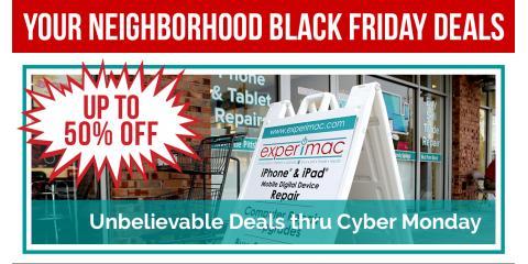 Avoid Holiday Shopping Mayhem. Shop Experimac - Klein., Northwest Harris, Texas