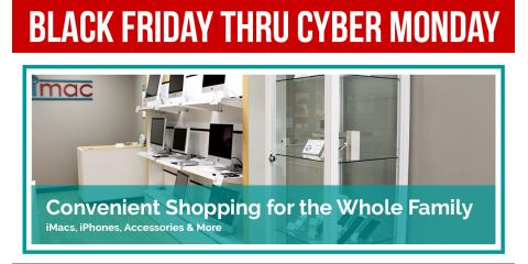 LOCAL BLACK FRIDAY DEALS: Up to 50% OFF iMacs and iPhones, Northwest Harris, Texas