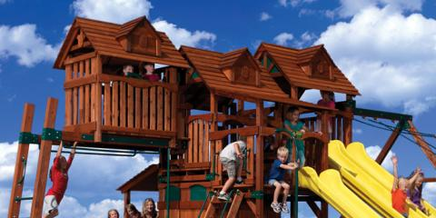 4 Reasons Cedar Is the Superior Choice for Your Outdoor Playset, Alpharetta, Georgia