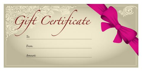 Gift Certificates available!, Deer Park, Texas