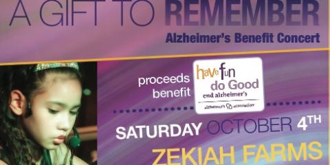 Music Lessons Lead Student to Hold Alzheimer's Benefit, White Plains, New York