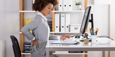 How to Keep Back Pain at Bay at the Office, Gig Harbor Peninsula, Washington