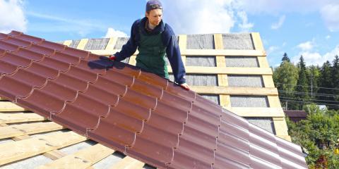 5 Benefits of Metal Roofs, Giltner, Nebraska