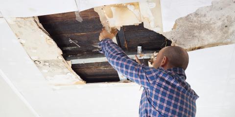 3 Types of Damage Caused by Roof Leaks, Giltner, Nebraska