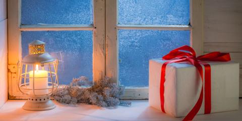 4 Holiday-Themed Glass Window Treatments, Waukesha, Wisconsin