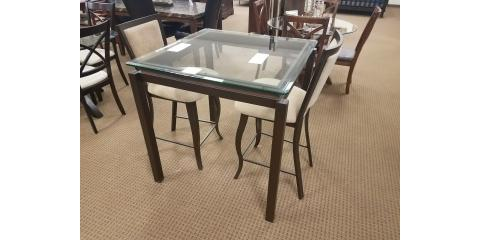 COUNTER HEIGHT DINING TABLE AND 2 CHAIRS - $200, St. Louis, Missouri