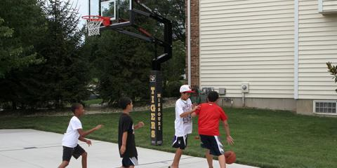 Top 3 Reasons to Get a Basketball Hoop for Your Kids, Urbandale, Iowa