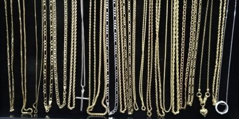 Gold Necklace Sale 10% off , Greece, New York