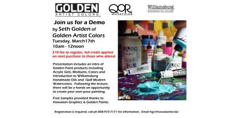 Golden Demo Mar 17th, Honolulu, Hawaii