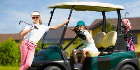 3 Types of Golf Car Seating Options, Lincoln, Nebraska