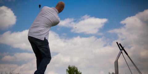 Does a Modern Golf Club Make the Ball Go Farther?, Denville, New Jersey