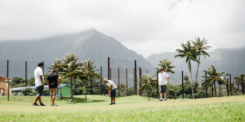 How to Keep Score in Golf, Waikane, Hawaii
