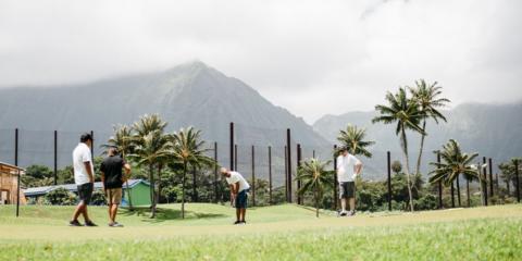 How to Keep Score in Golf, Waikane, Hawaii