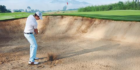 3 Steps to Hit Out of a Sand Bunker, Ewa, Hawaii