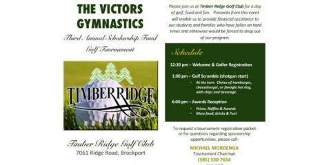 Victors Golf Tournament, Spencerport, New York