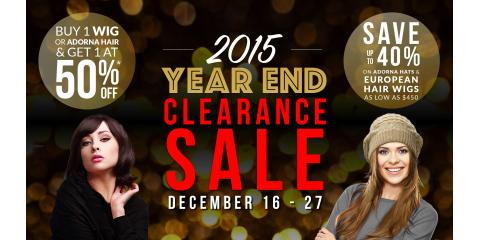 MILANO WIGS 2015 END OF YEAR CLEARENCE SALE, Los Angeles, California