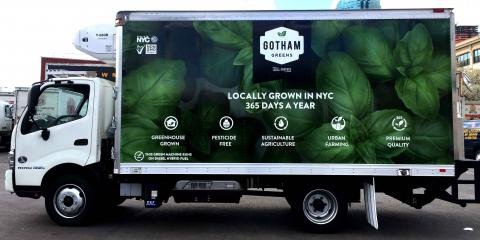 Make Your Box Truck A Moving Ad, Brooklyn, New York