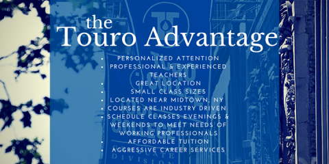 Touro College Graduate School of Technology Announces New Event Lineup!, Manhattan, New York