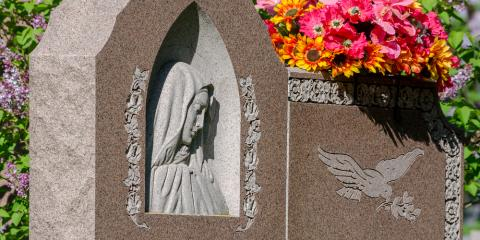 3 Popular Granite Memorial Designs, Troy, Pennsylvania