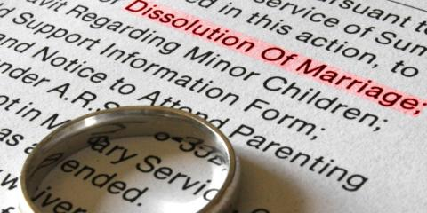 What Is a Dissolution of Marriage?, Granville, Ohio