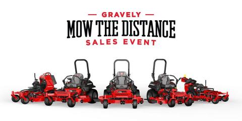 Gravely Mow the Distance Sales Event!, Jefferson, Missouri