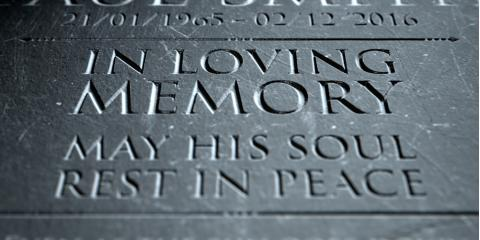 How to Plan Your Loved One's Gravestone Engraving, Canandaigua, New York