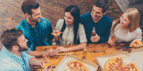How Much Pizza Should You Order for Your Guests?, Greensboro, North Carolina