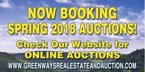 Now Booking Spring Auctions!, Covington, Virginia