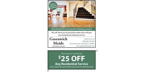 Holiday Special! 25 % off for New Customers!, Greenwich, Connecticut