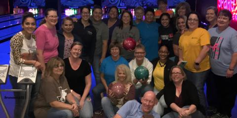 Team CMHS Bowls at Corporate Challenge , Gatesville, Texas