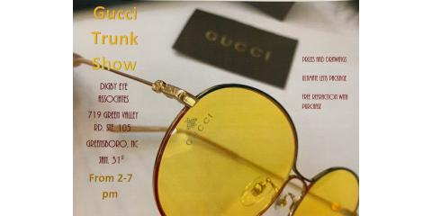 Gucci Trunk Show January 31st, Greensboro, North Carolina