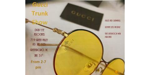 Gucci Trunk Show January 31st, High Point, North Carolina