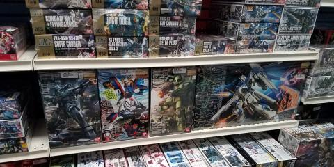 New Gundam Shipment In!, Brandon, Florida
